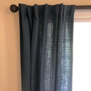NEW Pottery Barn Belgian Linen Curtains